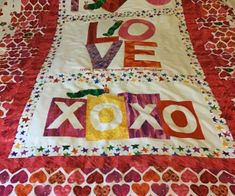 Bev's latest quilt for her daughter's new grandson