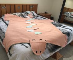 Cheryl's dinosaur quilt made for her grand-daughter
