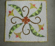 Chris Smith's wall hanging made in Anja Townrow's workshop