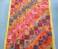 Christine Holyhead's lap quilt for her poorly sister