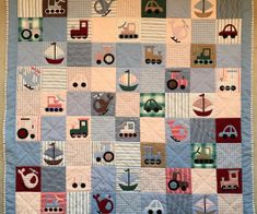 Evelyn's latest quilt