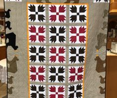 Evelyn's bear quilt