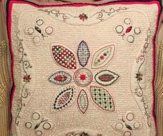 Evelyn's cushion