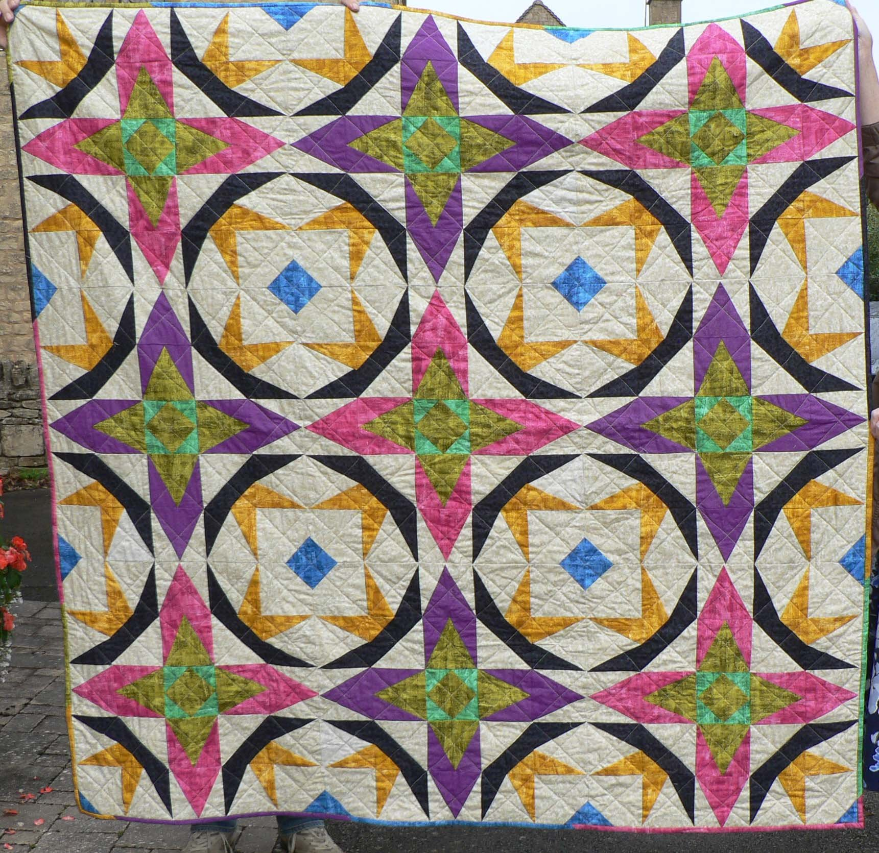 The quilt that Jane made for her grand-daughter