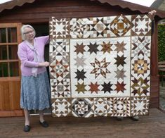 Jane's latest quilt