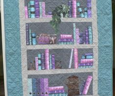 Jane's book case quilt