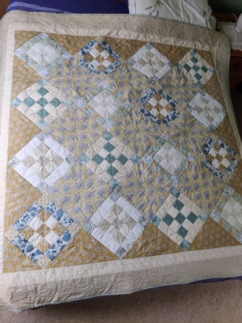 Quilt by Jenny Bruce for a friend
