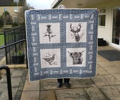 A Scottish quilt by Lyn Hayes