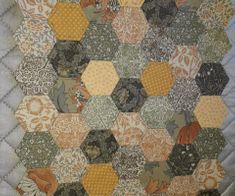 Sheila Allen's hexagons